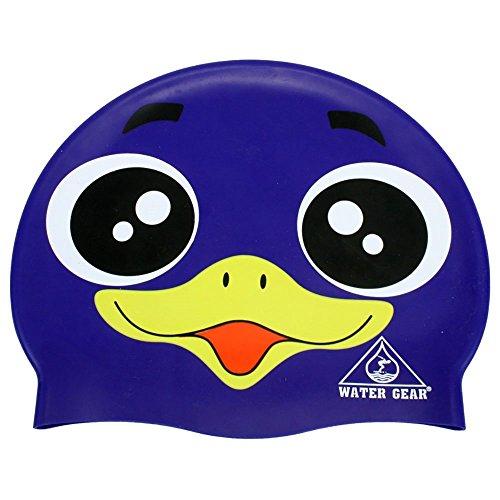 Water Gear Critter Cap (Purple Penguin, One Size) ()