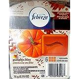 Febreze Wax Melts, Pumpkin Bliss, 2.75 oz (Pack of 2) by Febreze