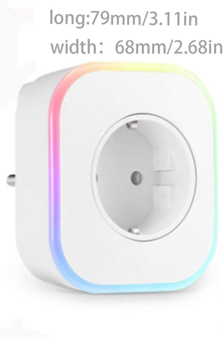 Losenlli WiFi Inalámbrico Conmutador Inteligente con USB Toma de ...