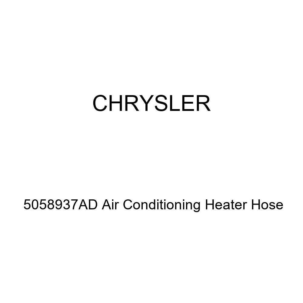 Genuine Chrysler 5058937AD Air Conditioning Heater Hose