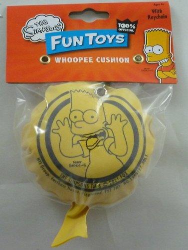 Bart Simpson Whoopee Cushion With Keychain -