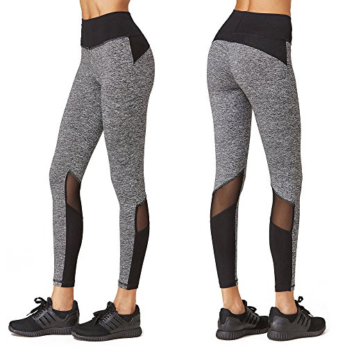 Defire Women High Waist Yoga Workout Capris Pant Athletic