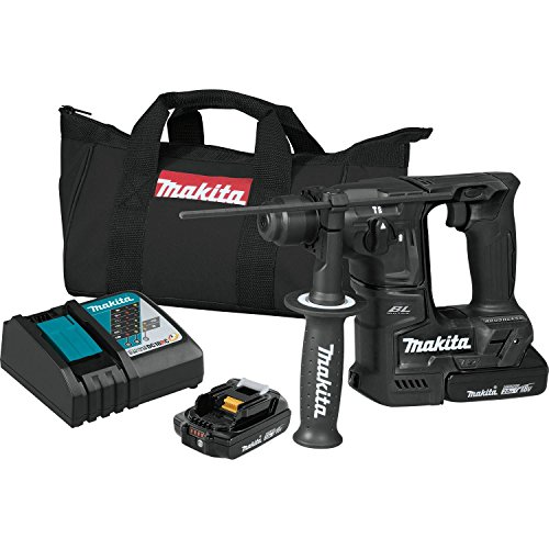 Sds Rotary Hammer Kit (Makita XRH06RB 18V LXT Lithium-Ion Sub-Compact Brushless Cordless 11/16