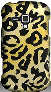 PiGGyB Case for Samsung Galaxy Amp Leopard Skin Rubberized Hard