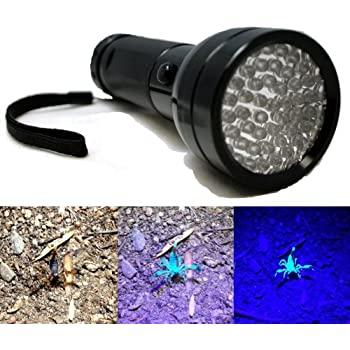 Amazon Com 51 Led Uv Scorpion Detector Hunter Finder