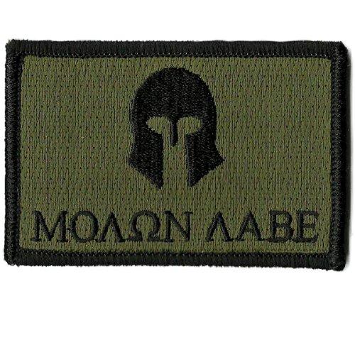 Molon Labe Tactical Patch - Olive Drab