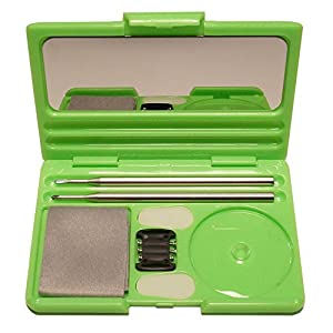 SOS Optical Everywhere Eyeglass Repair Kit Credit Card Size Green