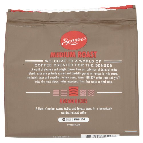 -[ Douwe Egberts Senseo Medium Roast Coffee 18 Pads (Pack of 5, Total 90 Pods)  ]-