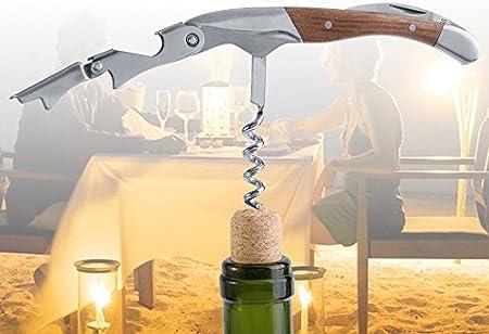 OKBY Abrelatas del Vino - Abrelatas del Corcho de la Botella de Vino del Ahorro de la Mano del sacacorchos 1Pc para el Uso casero del Partido del Club de la Barra Nuevo