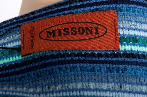 Missoni Poncho-Naranja Label, multicolor, 100x 80cm-On