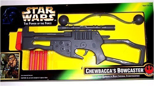 Star Wars The Power of the Force - Chewbacca's Bowcaster - 1996