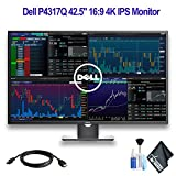 Dell P4317Q 42.5' 16:9 4K IPS Monitor with HDMI Cable