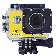 SJCAM SJ5000 Plus WiFi Sports Camera FHD 1080p 12MP 1.5 Inch 170 Degree Wide Angle Lens With Waterproof Case (Black)