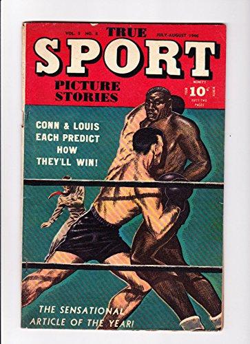 True Sport Picture Stories No.8 1946 Joe Louis Cover