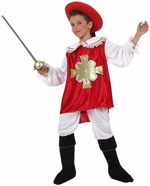 Disfraz mosquetero niño de 7 años a 9 años: Amazon.es: Ropa y ...