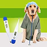 Accurate Pet Dog Digital Thermometer Portable Dog Electronic Thermometer