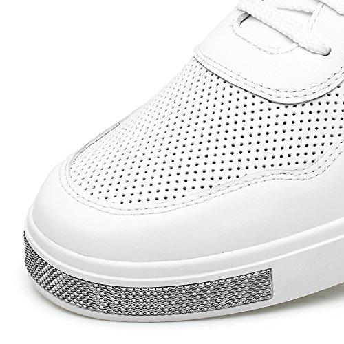 CHAMARIPA Herren Lauflernschuhe Sneakers, Weiß - Weiß - Größe: 41 EU D