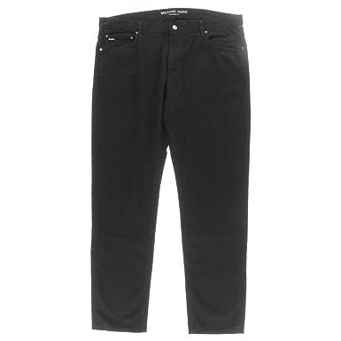 1378c4a8983 Michael Kors Men's Tailored Black Jeans 32x32 at Amazon Men's Clothing  store: