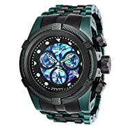Invicta Men's 'Reserve' Quartz Stainless Steel Casual Watch, Color:Two Tone (Model: 25920)