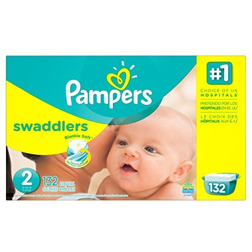Price comparison product image Pampers Swaddlers Diapers Size 2 Giant Pack 132 Count by Pampers