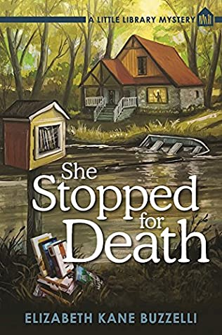 book cover of She Stopped for Death