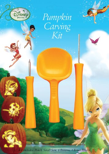 Paper Magic Group Pumpkin Carving Kit, Disney Fairies ()