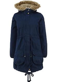 e64e4f8fd adidas Women's Neo SHRP Parka Jacket Ladies Coat Hooded Jacket M32623 - Navy