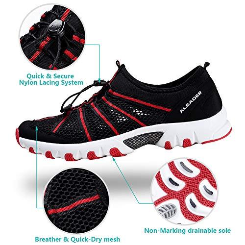 ALEADER Water Hiking Shoes for Women, Outdoor, Camp, Kayaking, Wet/River Walking...