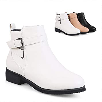 Modacordones Mujer Gruesos Zapatos Cllcr De Botines qZwBx7X4X