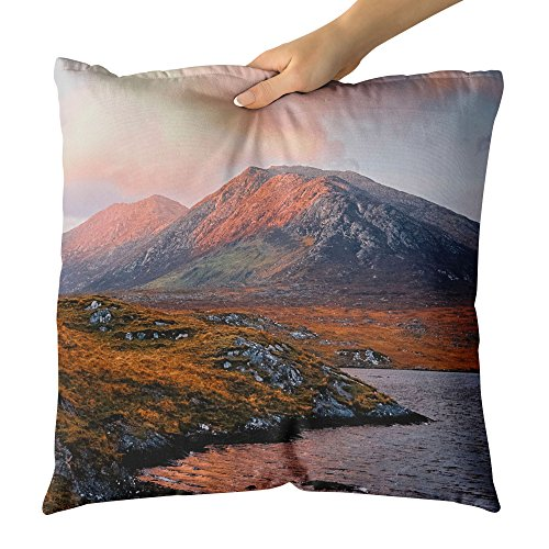 Westlake Art Ocean Rock - Decorative Throw Pillow Cushion - Picture Photography Artwork Home Decor Living Room - 14x14 Inch - Abbey Dawn Collection