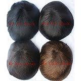 N.L.W. European virgin human hair toupee for men
