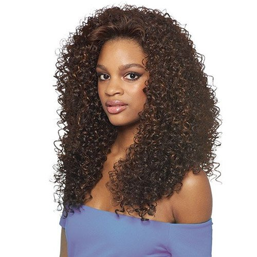 Cheap Outre Synthetic Hair Half Wig Quick Weave Batik Dominican Curly (DR30)