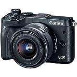 Canon EOS M6 (Black) EF-M 15-45mm f/3.5-6.3 is STM Lens Kit (Certified Refurbished)