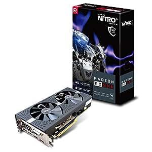 Sapphire Nitro+ Radeon RX 580 4GB GDDR5 - Tarjeta grafica (GDDR5Dual HDMI/DVI-D/Dual DP) negro