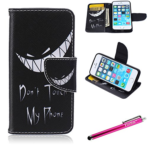 iPhone 6S Case, Firefish iPhone 6 Wallet Case [Kickstand] [Bumper] PU Leather Protective Skin Magnetic Closure Case for Apple iPhone 6/6S 4.7