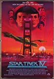 Star Trek IV: The Voyage Home (1986) Original Movie Poster 27x41 Rolled LEONARD NIMOY WILLIAM SHATNER GEORGE TAKEI Film Directed by LEONARD NIMOY