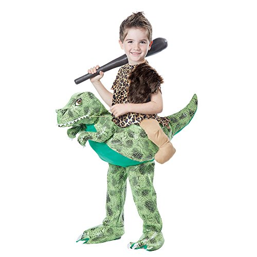 California Costumes Dino Rider Child Costume, Brown/Green, Toddler (3-6)