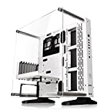 Thermaltake Core P3 SE Snow ATX Open Frame Panoramic Viewing Tt LCS Certified Gaming Computer Case CA-1G4-00M6WN-02
