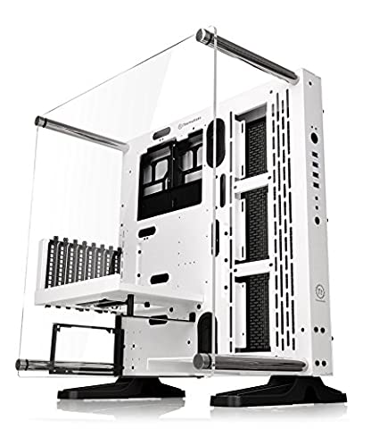 Thermaltake Core P3 SE Snow Edition ATX Open Frame Panoramic Viewing Tt LCS Certified Gaming Computer Case (Thermaltake Core V21)