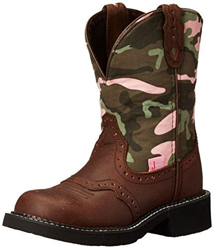 """Justin Boots Women's Gypsy Collection 8"""" Soft Toe, Aged Bark"""