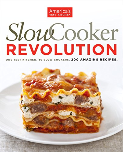 Slow Cooker Revolution One