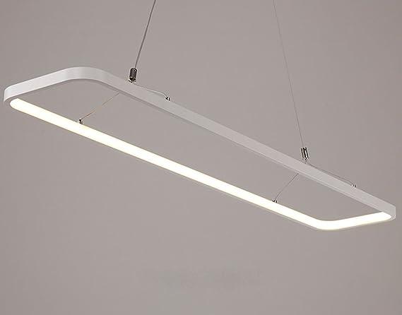 Tres Piedra - Lámpara colgante LED regulable sin niveles ...