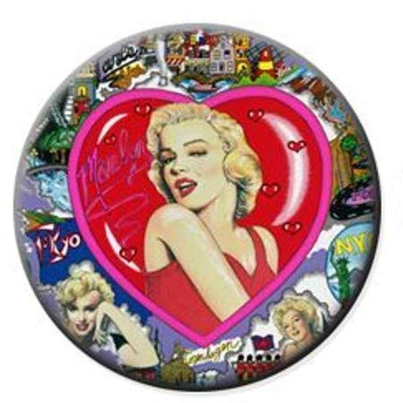 Marilyn Monroe in Heart Christmas Tree Holiday Ornament Printed Double- 2 Sided Decoration Great Unisex (Xmas Monroe Marilyn)