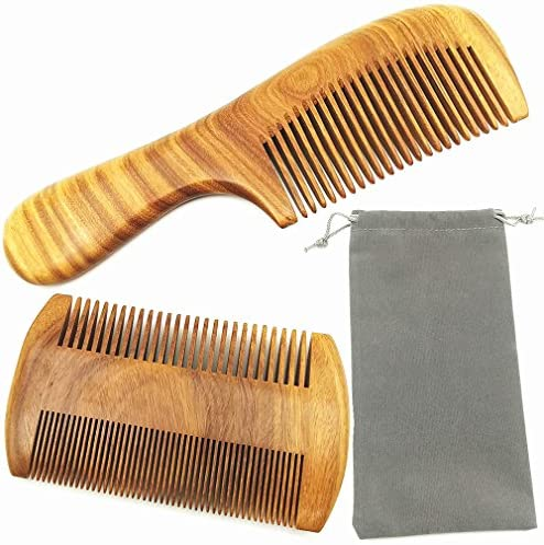 Hair Combs Handmade Natural Sandalwood product image