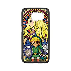 Samsung Galaxy S6 Cell Phone Case White Legend of Zelda Vwexq