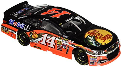 Bass Pro Grill - Lionel Racing Tony Stewart #14 Bass Pro Shops 2015 Chevy SS 1:24 Scale ARC HOTO Official NASCAR Diecast Car