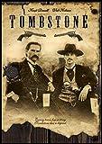 Tombstone Fridge Magnet Val Kilmer and Kurt Russell Movie Poster Canvas Print 3.5 x 5