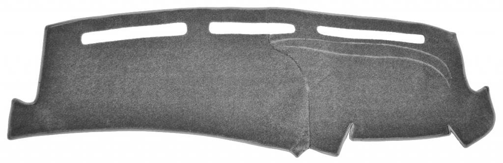 Seat Covers Unlimited Dash Cover Mat Pad - For Nissan Pick-up 1994-1997 (Custom Carpet Charcoal)