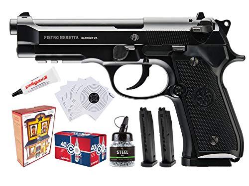 Umarex Beretta 92A1 CO2 BB Pistola Paquete de entrenamiento individual de policía