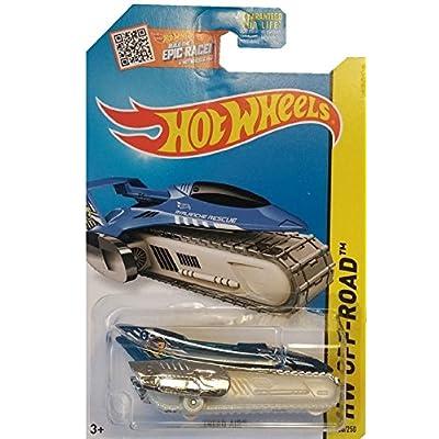 Hot Wheels 2015 HW Off-Road Tread Air 106/250, Blue (Treasure Hunt): Toys & Games